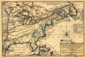 _-_Le_Canada,_ou_Nouvelle_France,_la_Floride,_la_Virginie,_Pensilvanie,_Caroline Paris 1702